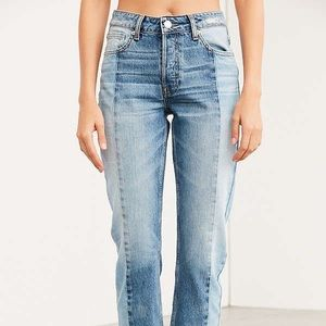 BDG Urban Outfitters Two Toned Jessye Jeans